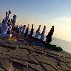 Joga intenziv na moru – Grčka 2014