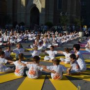 Međunarodni joga performans u Novom Sadu, 2014.