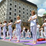 Međunarodni joga performans održan u Beogradu, 2014.