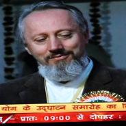 Televizija Haridwar, prof. dr Predrag K. Nikić, Indija, 2012.