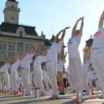 Joga savez Srbije - Evropski yoga performans u Novom Sadu 1