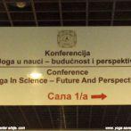 Prva naučna konferencija o jogi, Beograd 2010.