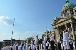 Joga performans u Beogradu, 2015.